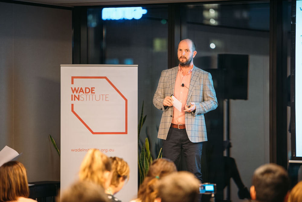 WADEx new ideas forum regional startups james baird