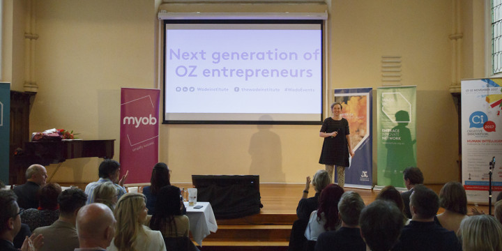 Next generation of OZ entrepreneurs, 2017 Showcase Pitch Night